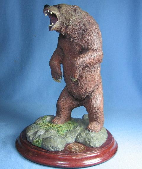 Mark Newman Sculptor MALE GRIZZLY BEAR Hallmark Galleries Limited Edition Sculpture