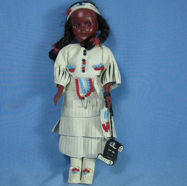Souvenir INDIAN DOLL - Vintage Toy
