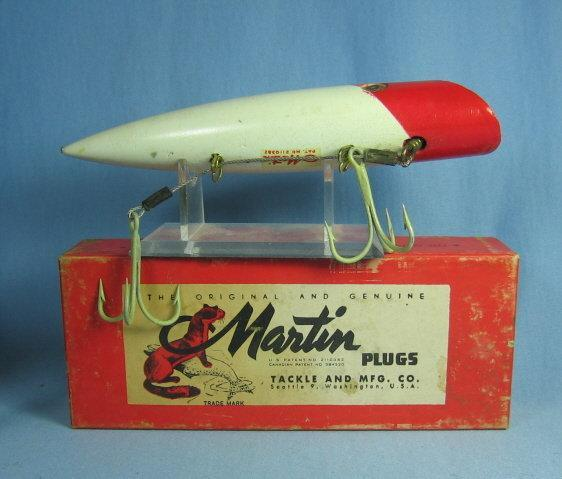 MARTIN Fishing Lure PLUG Tackle & Mfg - Sporting Fishing Bait