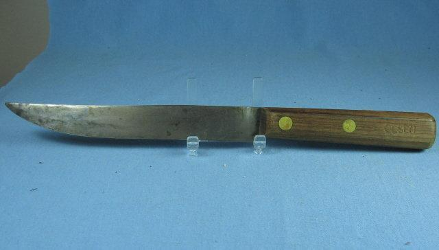 Kitchen Antique Wooden Handle Kitchen KNIFE by OLESON