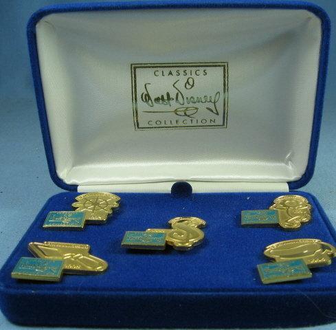 Walt Disney Classic Collectibles 5th ANNIVERSARY Pin Group 1992-1996 MIB
