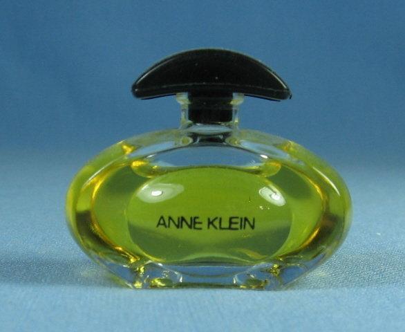 ANNE KLEIN - Glass  Miniature Perfume Parfum Bottle