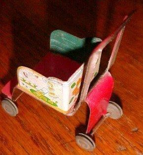 Baby Buggy Dollhouse Miniature - Toy