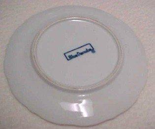 Blue Danube Bread + Butter Plate - Porcelain / Fine China
