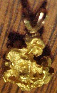 14 K GOLD Nugget  - Jewelry