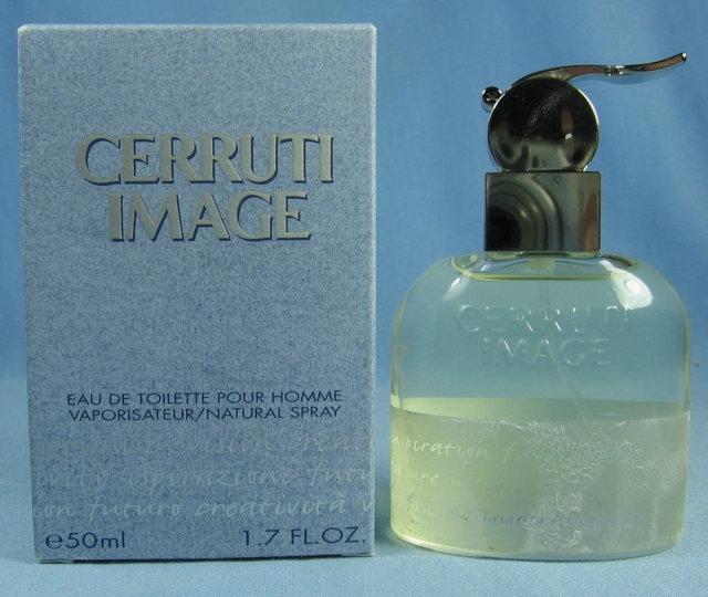 CERRUTI IMAGE Eau de Toilette Natural Spray Glass Bottle w/box