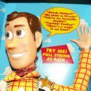 DISNEY'S Toy Story TALKING WOODY Manniquin in Original Box