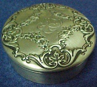 Gorham Powder Box - Silver