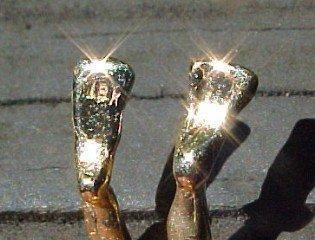 18K Sea Diver Diamond Face Pendant - Jewelry