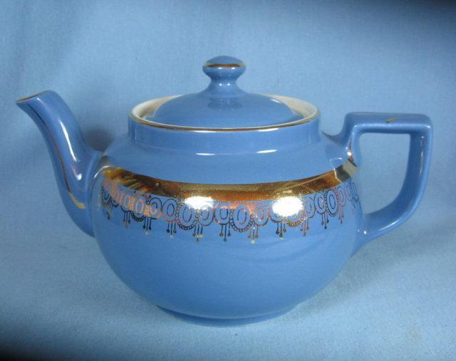 Hall BOSTON Teapot - Vintage 1920's Pottery