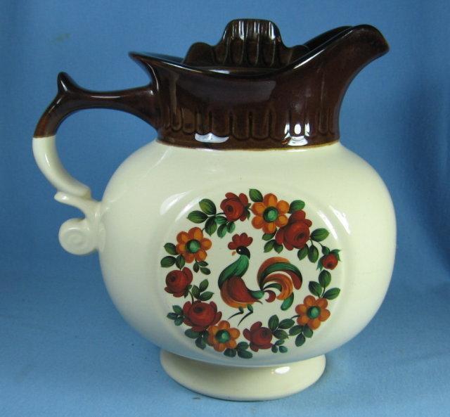 McCoy Yorkville Rooster Pitcher Cookie Jar - Vintage Pottery