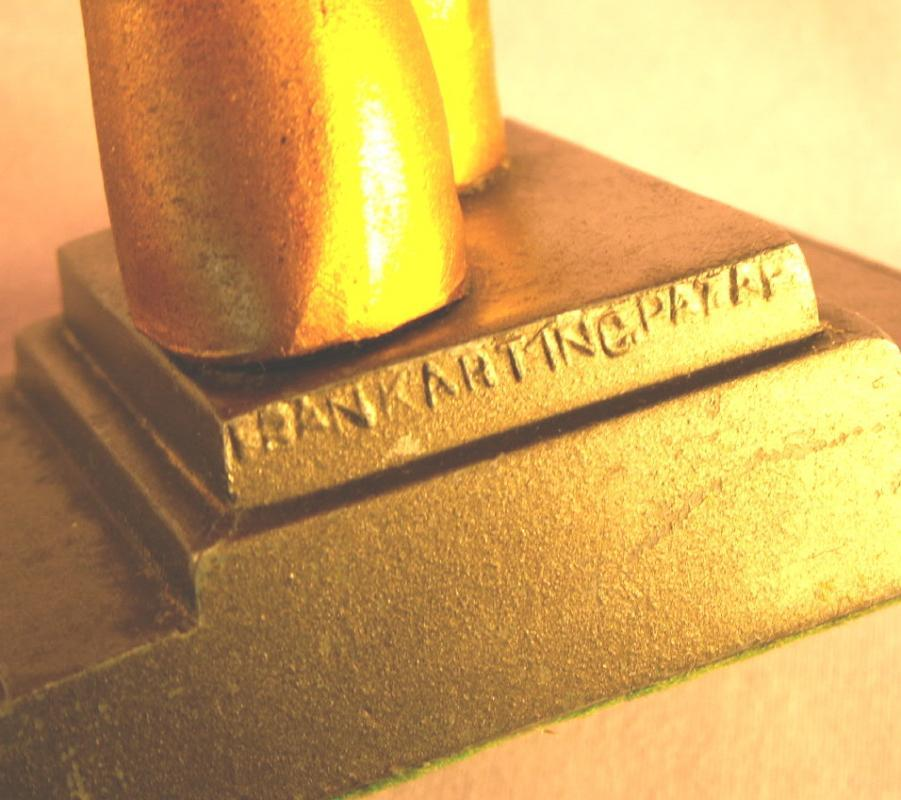 Frankart SAILOR BOY Cast Metal Bookends - Metalware