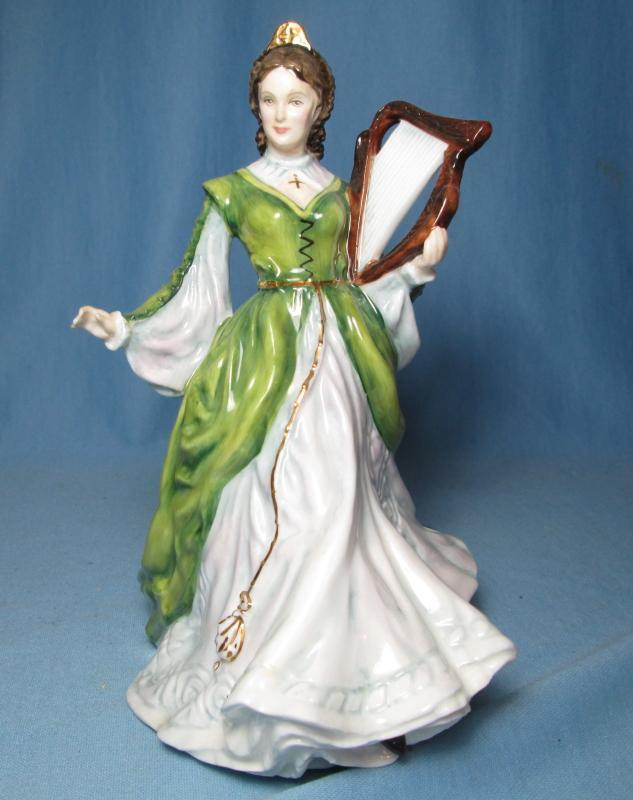 Ireland LADIES of the BRITISH ISLES  HN3628 - Royal Doulton Figurine