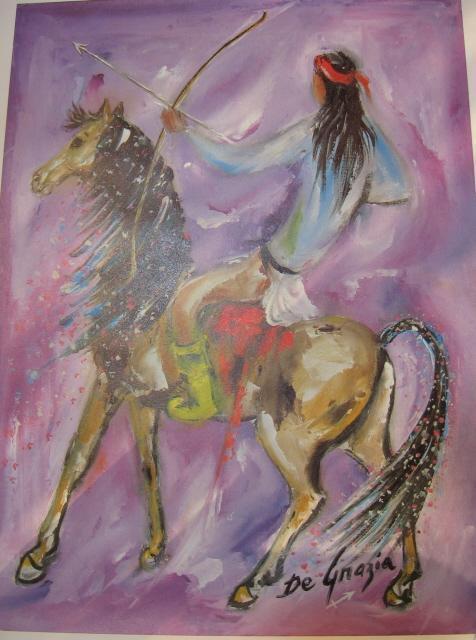De Grazia Print LIBRA Balance & CAPRICORN Goat