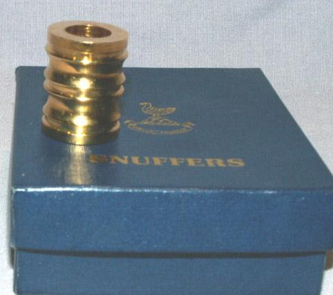 English Gold Plated CIGARETTE SNUFFERS - Tobacciana