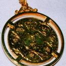 English Gold Coin Neckless Proclaiming the Prince of Wales and Lady Diana Marriage - Jewelry