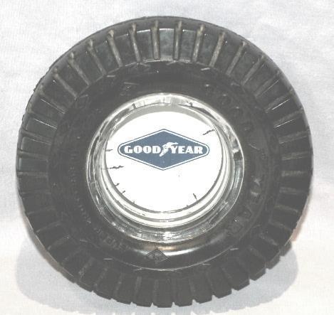 GOOD YEAR Tire Ashtray - Tobacciana