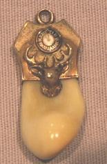 Elk Tooth ELKS CLUB Watch Fob - Jewelry