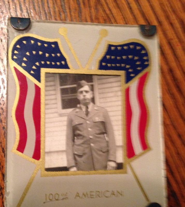 AMERICAN Army Flag Frame - MKW
