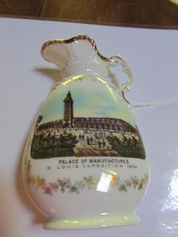 1904 Ewer ST. LOUIS Pitcher - Porcelain/Fine China