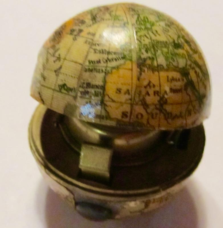 Globe Travel Ink Inkwell - Pens and Writing