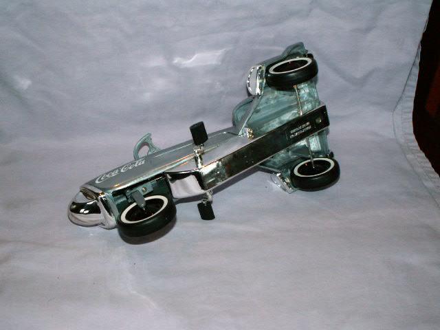 COCA COLA Chrome Pedal Airplane - Toy