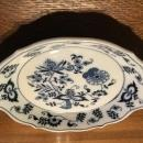 Blue Danube Nappy Plate - Porcelain / Fine China