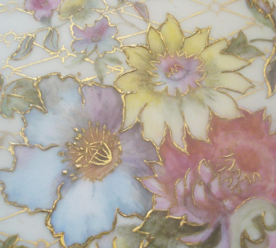 Jean Pouyat Limoges Hand Painted Plate