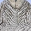 Saga Furs Blue Fox fur coat