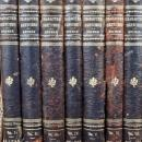 1902 Character Sketches of Romance Fiction and the Drama 7 volume set