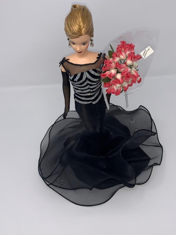 40th anniversary Mattel Barbie Doll 1999 #21384