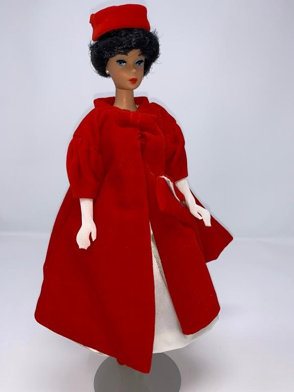 1997 SILKEN FLAME BARBIE 1962 Reproduction Doll #18448