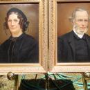 Pair of Antique, British, Master Artist, Oil Portraits, c. 1830-1840.
