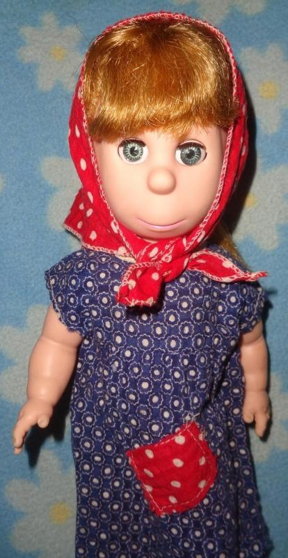 Poor Pitiful Pearl Doll by Brookglad w/ Box and Extra Dress ~ Gift Giving Condition