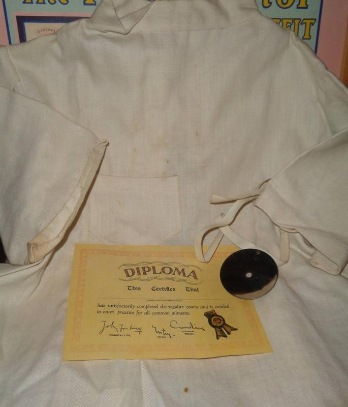 Effanbee Rare Patsy Doll Doctors Play Set w/ Surgeons Coat and Accessories