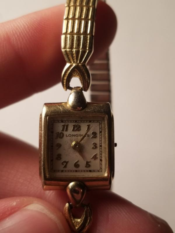 Antique Women's Longines 10K Gold Filled Watch