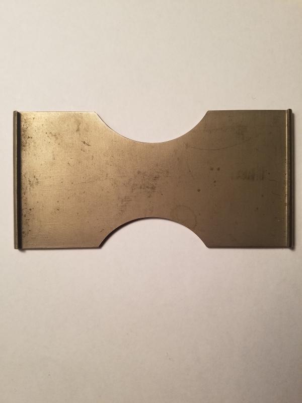 Vintage Chinese brass belt buckle/slide