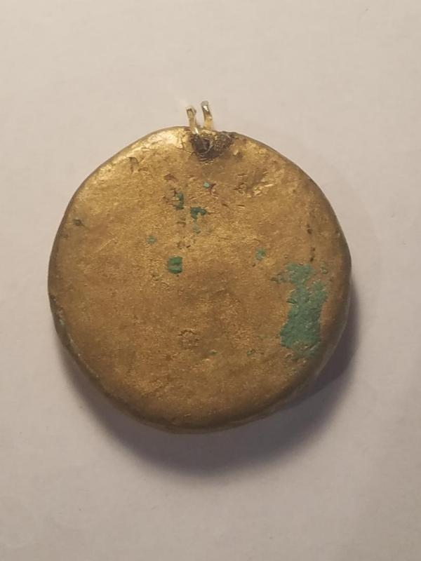 Late Victorian Art Medal By Charles Pillet