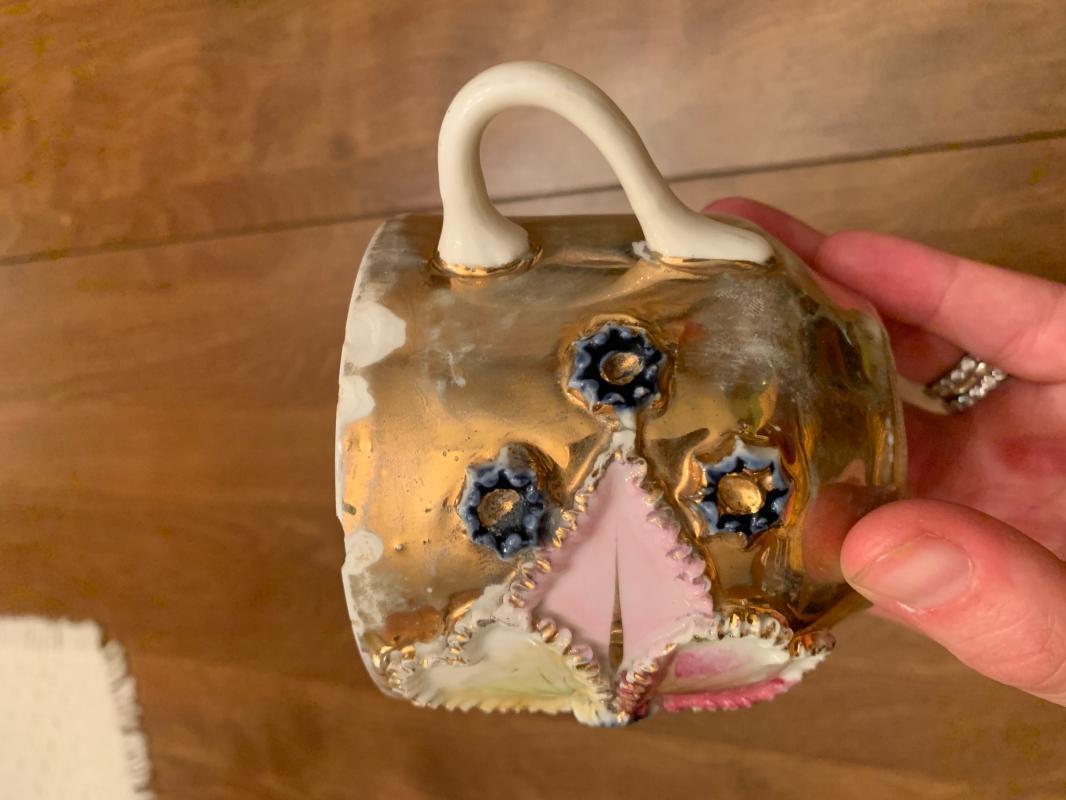 German 1880 porcelain cup