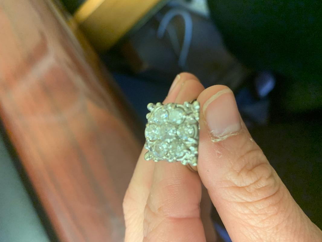 1950s diamond ring