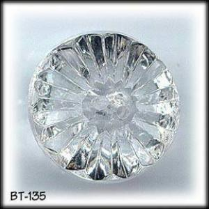 VINTAGE CUT CRYSTAL BUTTONS #135