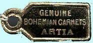 VINTAGE BOHEMIAN GARNET RING BG-020
