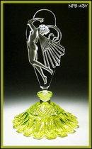 Femme au Naturel Uranium glass perfume bottle