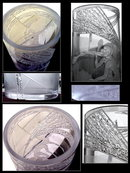 HUGE ART GLASS VASE