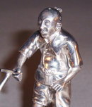 CHINESE EXPORT (QING) SILVER FIGURAL  OR33