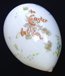 LARGE VICTORIAN HAND BLOWN GLASS EASTER EGG #66