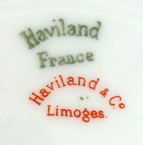 HAVILAND LIMOGES ANTIQUE PLATE 6-1/4