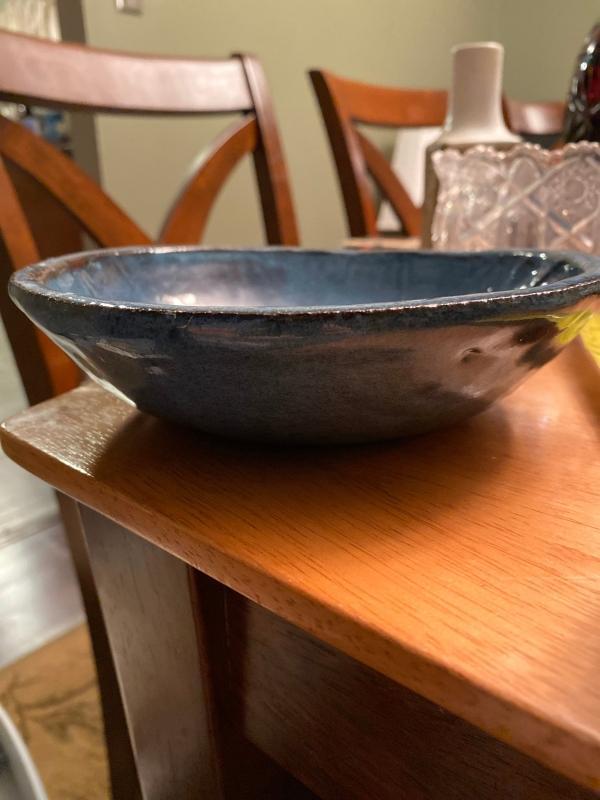 Japanese pottery bowl.