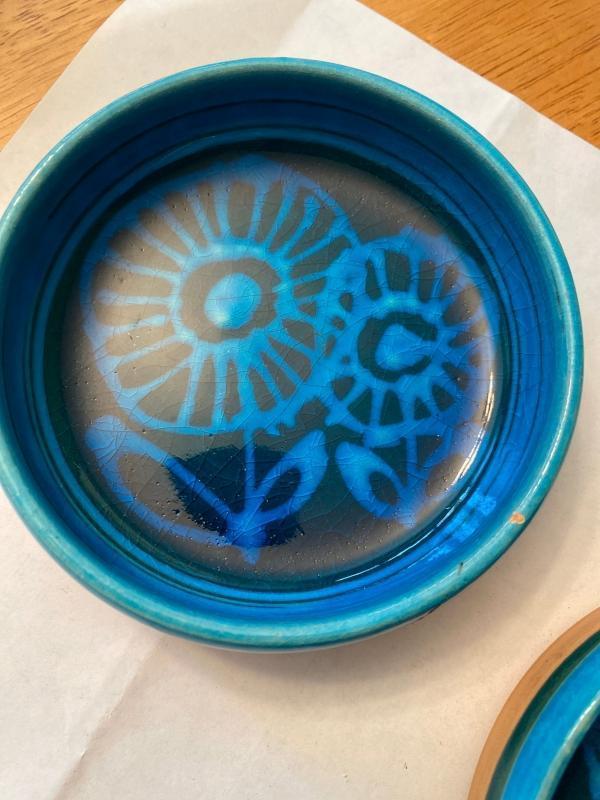 Bo Melander pin bowls- set of 2