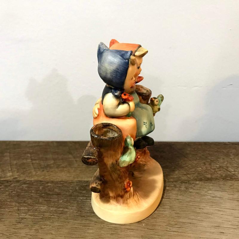 Hummel Goebel Coquettes Figurine 179 W Germany Two Girls on Fence